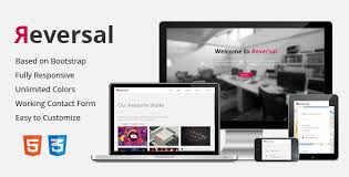 reversal u2013 responsive one page template download zip template free