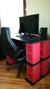 Cool Computer Desk Diy Gaming Computer Desk Gaming Desk Great Arrangement For Gaming