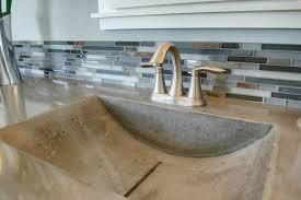 Cement Bathroom Sink - concrete bowls minneapolis mn concrete barrel ramp u0026 trough