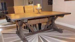 dining room metal dining table distressed dining room table