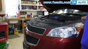 how to install replace lower grille 2009 2012 chevy traverse youtube