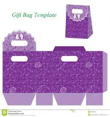 purple gift bags purple gift bag floral pattern bow vector illustration box box