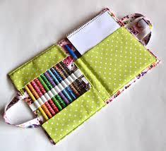 7 organizer sewing patterns for art supplies