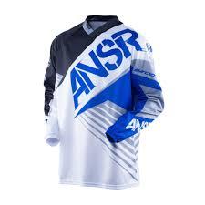 answer motocross gear answer syncron white black blue motocross pants jersey gear set