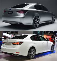 lexus is tail lights design review 2016 lexus gs f sport brings lf gh concept to life