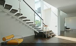 adorable modern glass stairs design rize stairs modern stair