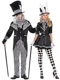 ringmaster halloween adults dark mad hatter costume mens ladies fairytale alice fancy
