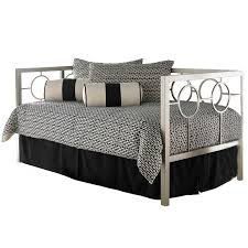 iron daybed champaign finish
