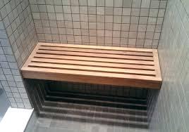 storage bench for bathroomstorage hamper bench view in gallery