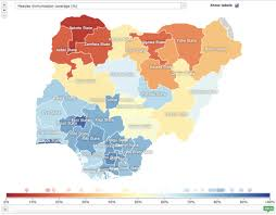 Nigeria State Map by Oil Rich Nigeria Still Suffers From Massive Health Inequities