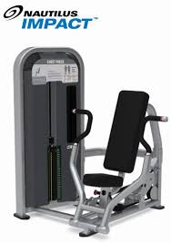 Nautilus Bench Press Machine Strength Sport And Fitness Inc