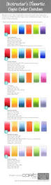 321 best copic color combinations images on pinterest copic