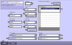 zk horizontal layout configuring the zk teco doors acfa intellect axxonsoft documentation