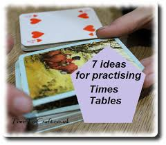 how to teach times tables just have to learn times tables