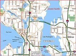 seattle map map seattle areas search seattle seattle