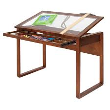 Studio Work Desk by Ponderosa Glass Top Work Table By Studio Designs In Drafting Tables