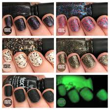 halloween monster nails one nail to rule them all china glaze monsters ball halloween