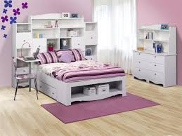 full size platform bed with storage and headboard white bed frame