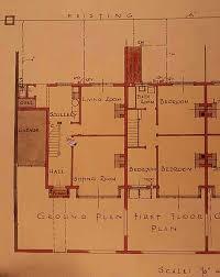 1930s Bungalow Floor Plans Domestic Architecture 1700 To 1960 U003cbr U003e