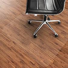 Best Chair Glides For Wood Floors Amazon Com Office Chair Mat For Hardwood Floors 36 X 48 Floor