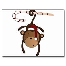 hanging monkey cards hanging monkey card templates postage