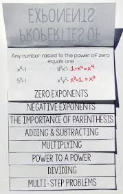 best 25 exponents foldable ideas on pinterest math properties