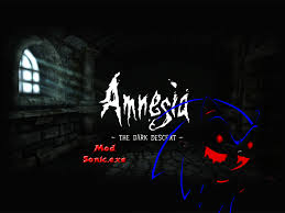 amnesia sonic exe beta file mod db