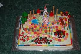 candyland birthday cake coolest candyland cakes