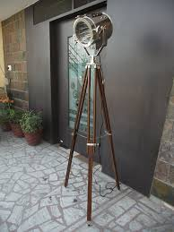 vintage nautical tripod floor lamp industrial retro amazon ca