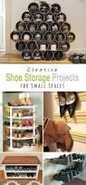 grid shoe storage display 22 diy shoe storage ideas dollar