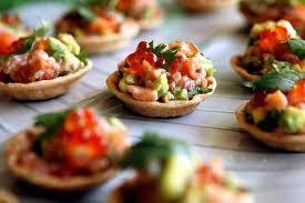 cuisiner pour 20 personnes menu de noel original pour 20 personnes tartare de saumon avocat