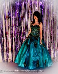 lydia in stunning peacock prom dress rosies helping hands flickr