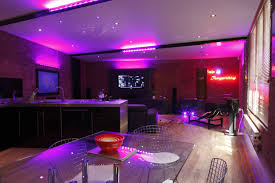 neon lighting design for kitchen house design ideas
