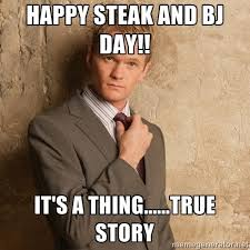Steak And Bj Meme - steak bj day best memes photos for march 14 holiday