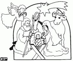 birth of jesus coloring page nativity scene coloring pages printable games