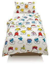 Marks And Spencer Duvet Cover Mr Men Cloud Print Bedding Set M U0026s