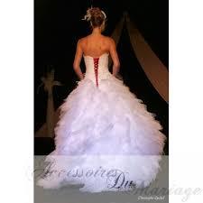 robe de mari e satin lacage pour robe de mariee satin noir corset dos accessoires de la