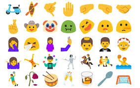 emojis android the time android supports more emoji than ios find the