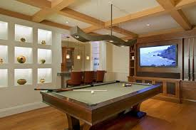 Drywall Design Ideas Good Looking Billiard Lights In Family Room Eclectic With Drywall