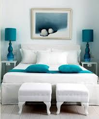 d馗oration chambre peinture murale peinture murale une chambre tout en blanc avec des accents bleu