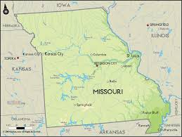 missouri map images geographical map of missouri and missouri geographical maps