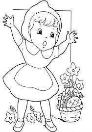 draw red riding hood coloring pages batch coloring