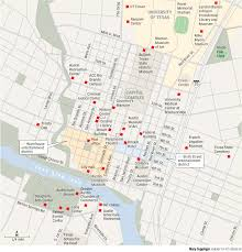 Austin Convention Center Map by