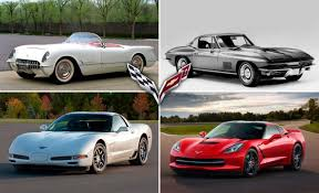 year corvette made from inception to c7 a timeline of corvette history feature