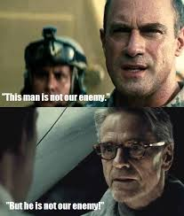 Man Of Steel Meme - are dc s colonel hardy and alfred the dceu s smartest people
