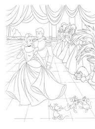walt disney coloring pages prince charming u0026 princess cinderella