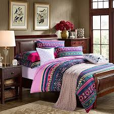 fadfay home textile modern colorful boho bedding fashion