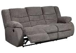 Reclinable Sofa by Tullen Reclining Sofa Gray Tepperman U0027s