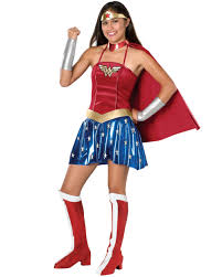 wonderwoman teen halloween costume size teen girls u0027 one size