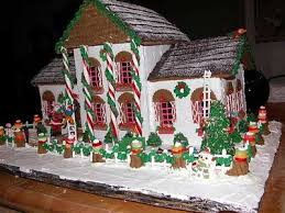 Gingerbread House Decoration Gingerbread House Decorations Courtyard Garden And Pool Designs